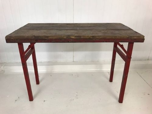 Industrial Folding Table -  a02